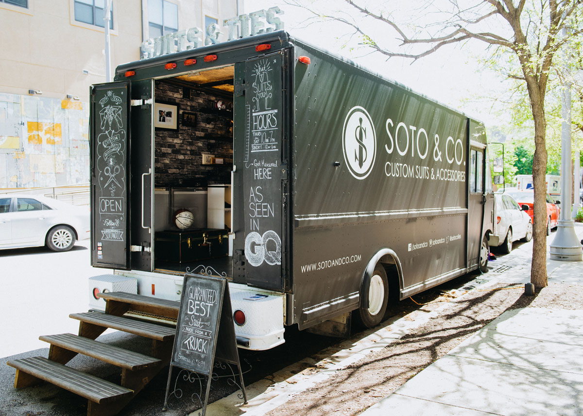 Soto and Co - Mobile Bespoke Truck