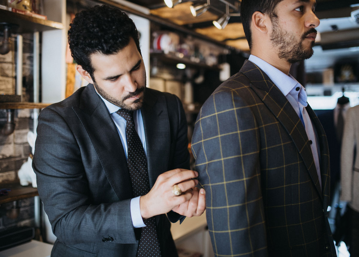 Soto and Co. Custom Suit and Accessories Experience.